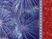 fireworks and stripes Backgrounds