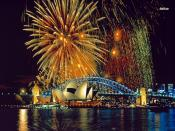 Fireworks in Sidney Backgrounds