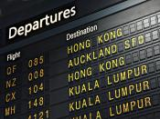 Flight Destination Backgrounds