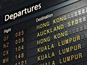 Flight Destination Backgrounds