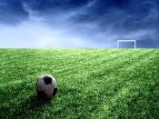 Football In Field Backgrounds