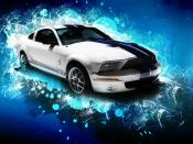Ford Shelby GT500 Abstract Backgrounds