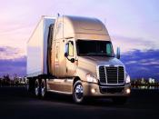 Freightliner Cascadia Truck Backgrounds