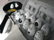 Funny Eggs Backgrounds