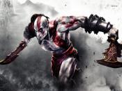 GOD OF WAR 3 Backgrounds