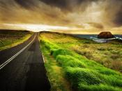 Green Highway Road Backgrounds