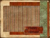 Happy Harvest Backgrounds