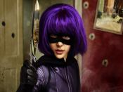 Hit Girl in Kick Ass Movie Backgrounds