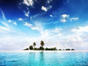 Holiday Visit To Island Backgrounds