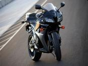 Honda CBR 600RR In Race Track Backgrounds