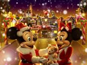 Hong Kong Disneyland Christmas Backgrounds