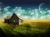 House Plains Grass World Backgrounds