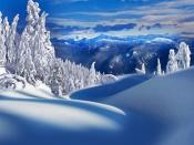 Ice Mountains Canada Backgrounds