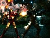 Iron Man 2 Climax Fight Scene Backgrounds