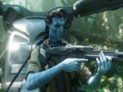 Jake Play With Gun In Avatar Backgrounds