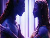 Jake Sully & Neytiri Plan In Avatar Backgrounds