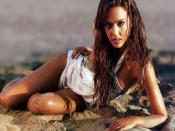 Jessica Alba Sandy Backgrounds