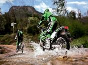 Kawasaki Bike Racing Backgrounds