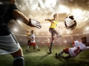 Kids Playing Football Backgrounds
