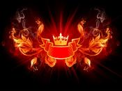 King Of Fire Design Backgrounds