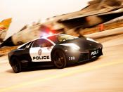 Lamborghini Police Car NFS Hot Pursuit Backgrounds