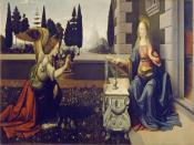 Leonardo Da Vinci Annunciazione Backgrounds