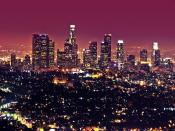 Los Angeles City Backgrounds