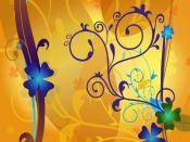 Lucky Digital Clovers Backgrounds