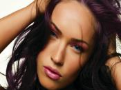 Megan Fox Close Up Backgrounds