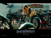Megan Fox Play In Transformers 2 Backgrounds