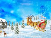 Merry Christmas Abstract Backgrounds