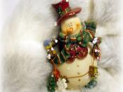 Merry Xmas Doll Backgrounds