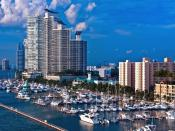 Miami Shipping Port Backgrounds
