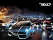 Need For Speed World Race Backgrounds