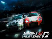NFS Shift 2 Unleashed Racing Backgrounds