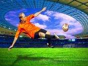 Nice Football Goal Backgrounds