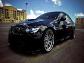Night Black BMW m3 Backgrounds