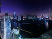 Nights At Downtown Dubai Backgrounds