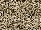 Olive Paisley Backgrounds