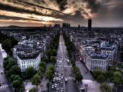 Parallel Streets Of Paris Backgrounds