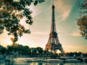 Paris Eiffel Tower Backgrounds