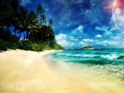 Phantastic Beach Island Backgrounds