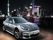 Porsche Panamera Shanghai 2010 Backgrounds