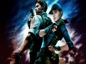 Resident Evil 5 Game 1080p Backgrounds