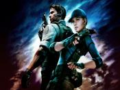 Resident Evil 5 Game Play Backgrounds