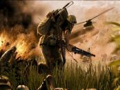 Running War Soldier Backgrounds