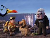 Russell Dug Carl Fredricksen In Pixars Up Movie Backgrounds