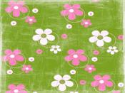 Sanded Flowers Background
