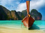 Sea Shore In Thailand Backgrounds