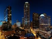 Seattle Nights Towers Backgrounds